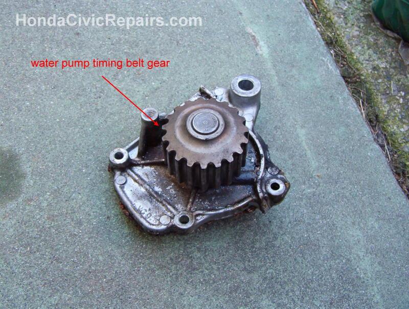 Changing the Water Pump - Honda Civic